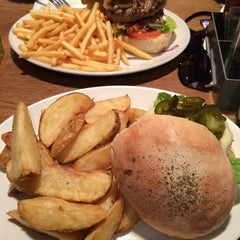 Photo taken at The Burger Joint by Mrv U. on 8/1/2014