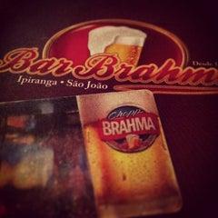 Photo taken at Bar Brahma by Thiago C. on 4/7/2013