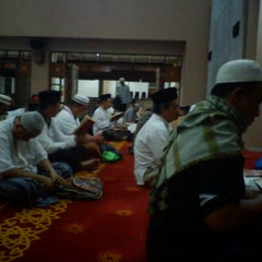 Photo taken at Masjid Raya Bani Umar by Heru S. on 8/2/2013