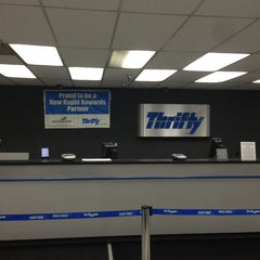 Photo taken at Thrifty Rental Car by Evgeny M. on 12/31/2012