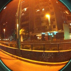 Photo taken at Tunel Av. Libertador by Vanesa S. on 1/19/2014