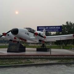 Photo taken at SMA Angkasa Medan by Mulyo S. on 3/1/2014