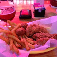 Photo taken at Champy's Famous Fried Chicken by Tre E. on 2/25/2013