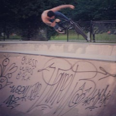 Photo taken at Wilson Skate Park by Dave M. on 7/7/2013