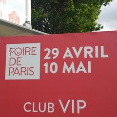 Photo taken at Foire de Paris by Sweety D. on 5/3/2015