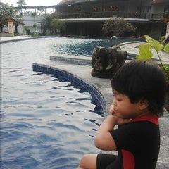 Photo taken at Hotel Tirta Sanita by Nina D. on 5/10/2014