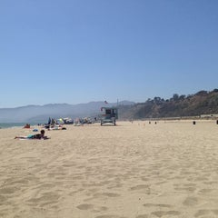 Photo taken at Beach Life Guard Post 18 by Chris B. on 7/5/2014