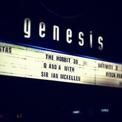Photo taken at Genesis Cinema by Brad C. on 12/21/2012