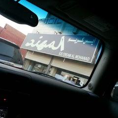 Photo taken at أيس كريم المهـند | AlMuhanad icecream by Roz .. on 11/11/2014
