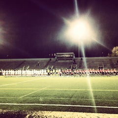 Photo taken at Lamport Stadium by Casie S. on 10/6/2012