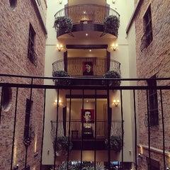 Photo taken at Hôtel Nelligan by Casie S. on 6/7/2013