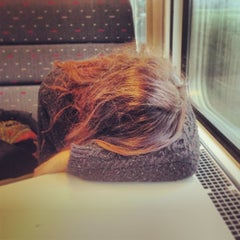 Photo taken at Trein Hasselt - Antwerpen by Wouter d. on 1/4/2014