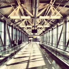 Photo taken at Terminal 5 by Rich L. on 4/9/2013