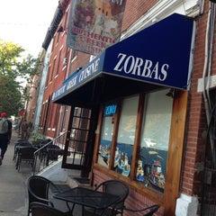 Photo taken at Zorba's Tavern by Jenny G. on 10/1/2013