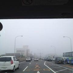 Photo taken at 滝尾橋 by str o. on 5/29/2013