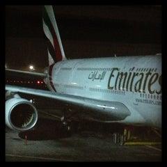 Photo taken at Emirates Lounge by Denis S. on 1/5/2013