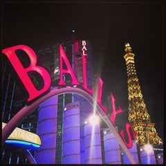Photo taken at Bally's Hotel & Casino by Monica T. on 1/10/2013