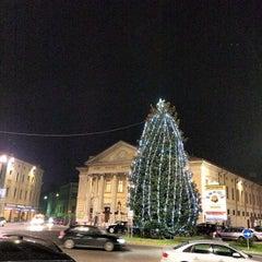 Photo taken at Teatro Sociale di Mantova by Simon L. on 12/3/2013