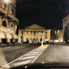 Photo taken at Teatro Sociale di Mantova by Simon L. on 7/14/2013