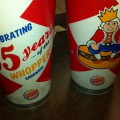 Photo taken at Burger King® by π on 4/11/2013
