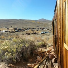 Photo taken at Bodie, CA by Marc M. on 10/2/2013