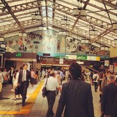 Photo taken at JR 上野駅 (Ueno Sta.) by ayaco on 5/16/2013