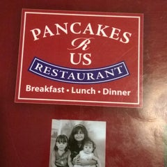 Photo taken at Pancakes R Us by David C. on 8/10/2014