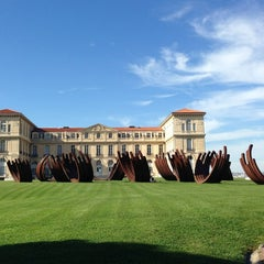 Photo taken at Palais du Pharo by Elizabeth M. on 10/1/2013