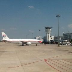 Photo taken at Ningbo Lishe International Airport (NGB) 宁波栎社国际机场 by Pan H. on 7/24/2013