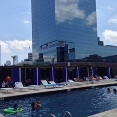 Photo taken at Trump Plaza Pool Deck by Moses A. on 6/2/2013