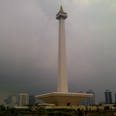 Photo taken at Monumen Nasional (MONAS) by Cahya D. on 7/15/2013