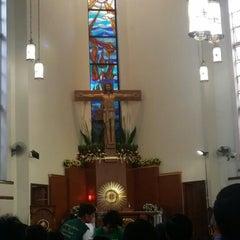 Photo taken at St.Jude Parish Church by Adrian G. on 10/28/2013
