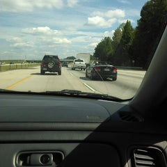 Photo taken at Interstate 75 by Tre' S. on 9/29/2013