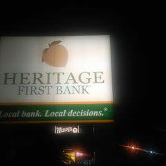 Photo taken at Heritage First Bank by Tre' S. on 10/2/2013