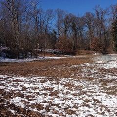 Photo taken at Oakhurst Dog Park by Jacqueline F. on 1/30/2014