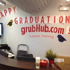 Photo taken at GrubHub.com World Headquarters by Michael S. on 3/12/2012