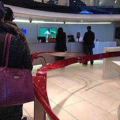 Photo taken at Barclays by Gökçe on 4/28/2014