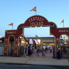 Photo taken at Fantasy Island by Adina L. on 7/31/2013