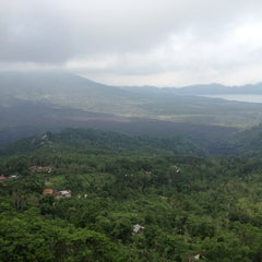 Photo taken at Batur View Spot by BALI D. on 1/22/2014