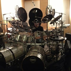 Photo taken at Vic's Drum Shop by Jeanette I. on 12/22/2012