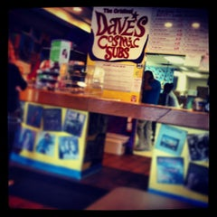 Photo taken at Dave's Cosmic Subs by Michael C. on 9/12/2013