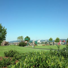 Photo taken at Rainier City Park by Alex R. on 9/12/2013