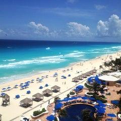 Photo taken at The Ritz-Carlton, Cancun by Burcin on 5/25/2013