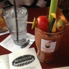 Photo taken at Brownstone Tavern & Grill by Sarah R. on 12/30/2012
