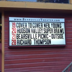 Photo taken at Bearsville Theater by Michael M. on 6/19/2014