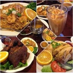 Photo taken at Thai Original BBQ & Restaurant by A F. on 4/17/2013