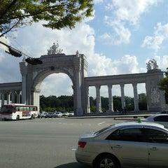 Photo taken at 경희대학교 국제캠퍼스 by 김 상범 (. on 9/19/2012