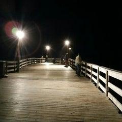 Photo taken at Avon Fishing Pier by Matthew C. on 9/21/2015