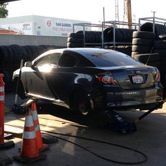 Photo taken at Company C Tire by Javier P. on 5/30/2013
