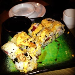 Photo taken at Dragonfly Sushi & Sake Co by Carolina G. on 12/12/2012